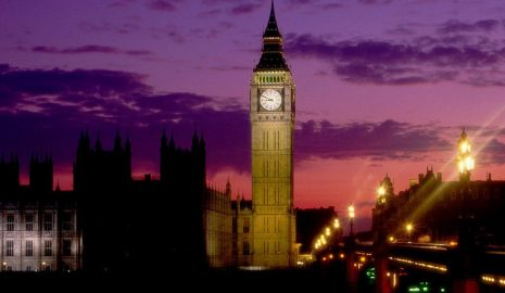 A picture of Big Ben in London