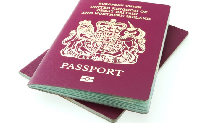 European Union British passport