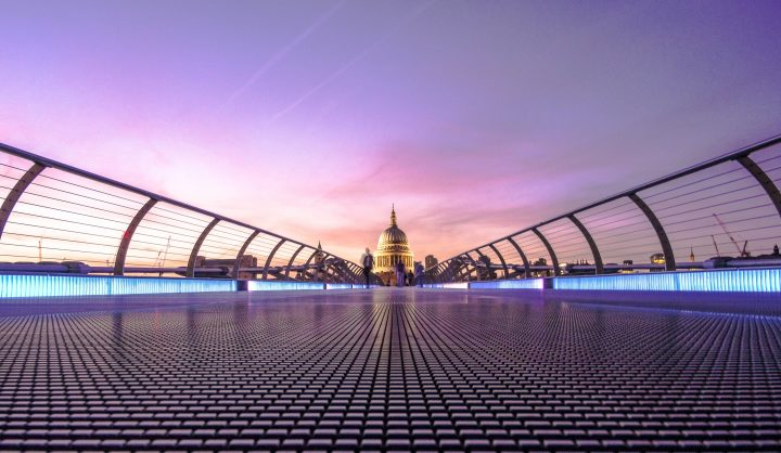 Millennium Bridge & St Paul's Cathedral | First Migration's UK Standard Visitor Visa